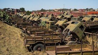 Заброшенный военный объект