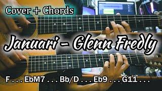 Januari - Glenn Fredly | Cover + Chords by NY Tutorial
