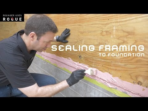 sealing-framing-to-foundation