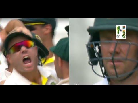 ABD vs WARNER / De Villiers Comeback After Warner's fiery Send Off