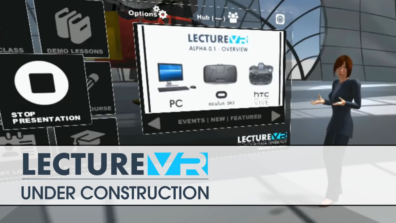 Lecture VR - First Look - Pre Alpha - YouTube