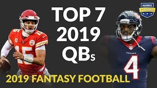 Top 7 QBs for Fantasy Football 2019