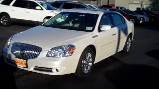 2011 Buick Lucerne CXL Premium Diamond White Art Gamblin Motors 11017