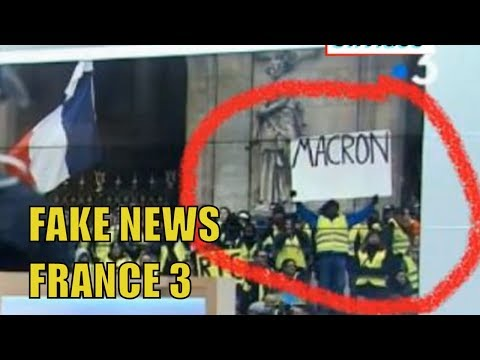 Exclusive - Fake news in FRANCE - France 3 is photoshopping Yellow VEST Picture !