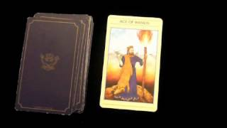 http://www.spiritreader.co.uk/ Ace of Wands Tarot Card Meaning Vide...