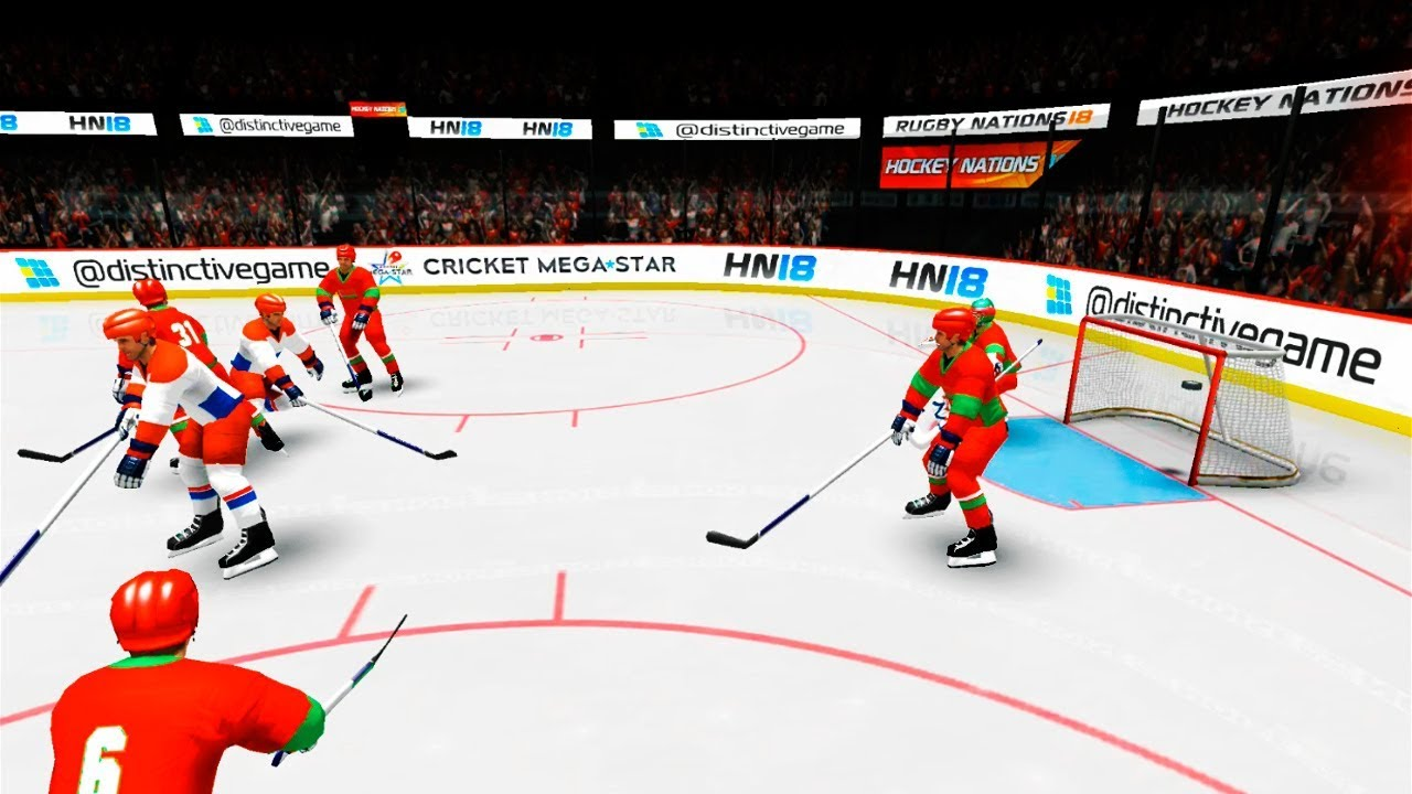 Hockey Nations 18 (by Distinctive Games) Android Gameplay FHD