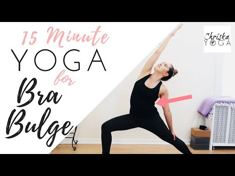 Yoga for Your Back   Get Rid of Bra Bulge   15 Minute Yoga Routine   Upper Back Exercises