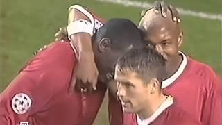 Ливерпуль (Ливерпуль, Англия) - СПАРТАК 5:0, Лига Чемпионов - 2002-2003