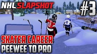 NHL Slapshot (Wii) | Peewee to Pro (Skater Career) | EP3 | ALMOST DONE THE SEASON?