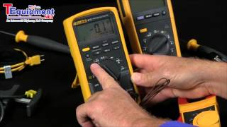 How to Measure Temperature With A Fluke Multimeter Features Models 87V & 233 Mp3