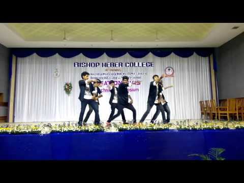 BOYS DANCE, BCA CREATION 2K15, BISHOP HEBER COLLEGE, TRICHY
