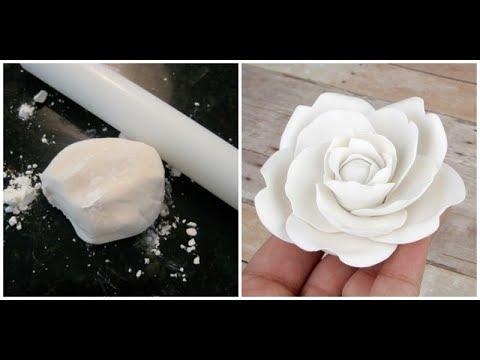Como hacer pasta de goma para flores figuras y mas en - Www como hacer flores com ...