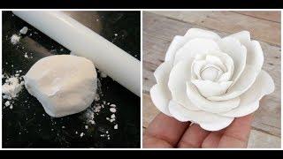 como hacer pasta de goma para floresfiguras y masen vivo
