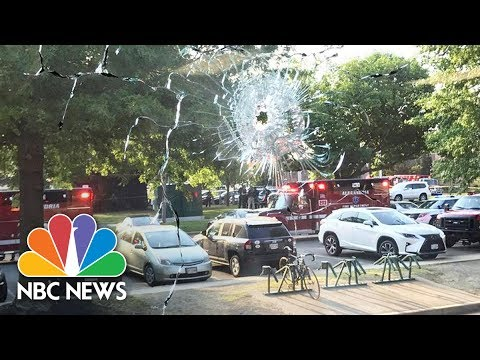 Virginia Police: 5 Transported To Hospital, No Additional Threats In Alexandria Shooting | NBC News