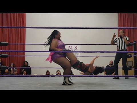 Valentina Vasquez VS Karen BamBam Wrestling