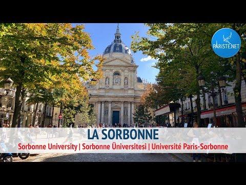 La Sorbonne | Sorbonne University | Sorbonne Üniversitesi | Université Paris-Sorbonne
