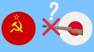 Почему Япония НЕ напала на СССР ?