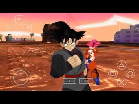 Goku black mod dragon ball z tenkaichi tag team-ppsspp+link de descarga (parte #1)