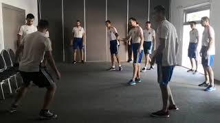 Смотреть видео Чемпионат мира - 2019. Россия - Бразилия. Раскатка сборной России онлайн