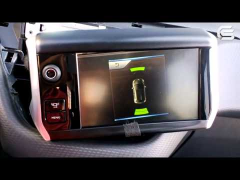 Video Interface for Peugeot 208, 2008 Operation with Connected Camera