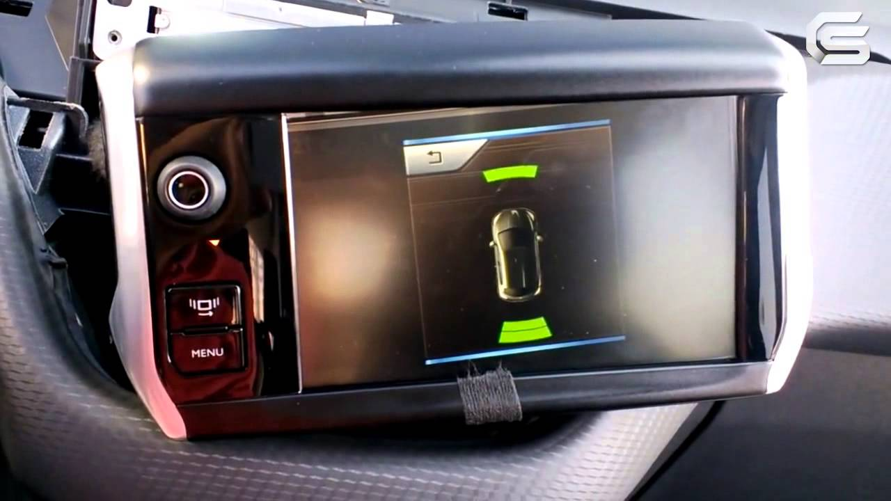 Video Interface for Peugeot 208, 2008 Operation with ...