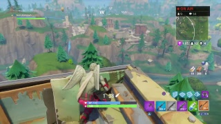 Fortnite playing with new Love ranger skin!