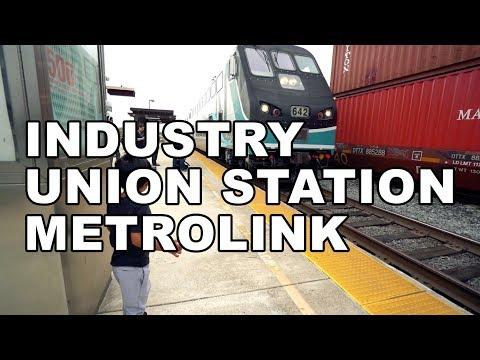 Industry to LA Union Station Metrolink Ride