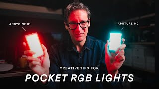 Creative Tips for Pocket RGB Lights / Aputure MC and Andycine R1 Review