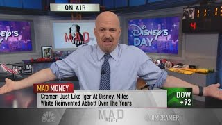 Disney shares have more upside, Jim Cramer says