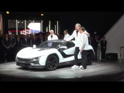 RACEMO Launch at Geneva International Motor Show   TAMO