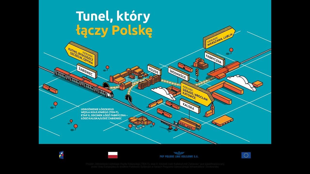 Łódź: tunel, który łączy Polskę