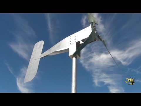 Sparrow Low Cost Portable Ultra Low Wind Turbine Generator