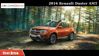 2016 Renault Duster AMT   First Drive Review   CarDekho.com