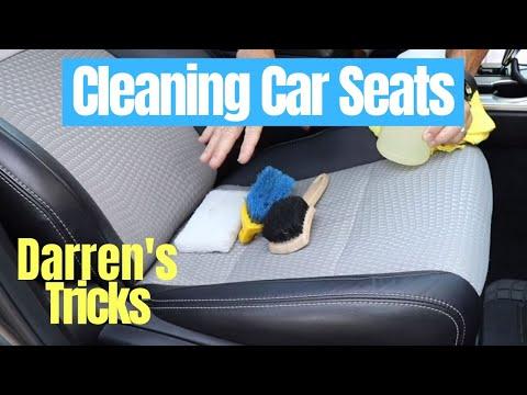 Clean Car Seats: keeping it super simple!