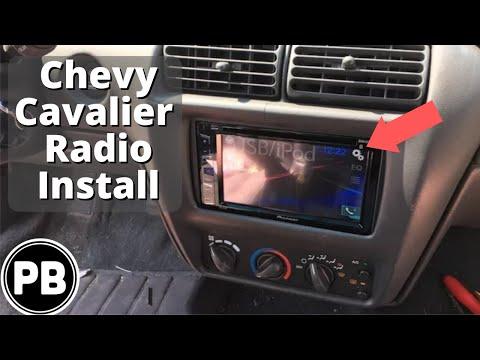 1995 - 2005 Chevy Cavalier Pioneer Bluetooth Radio Install AVH-X280BT