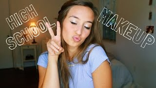 HOW I DID MY MAKEUP IN HIGH SCHOOL | Kristin Lauria