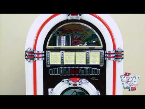Mini Jukebox Radio cd mp3 English version