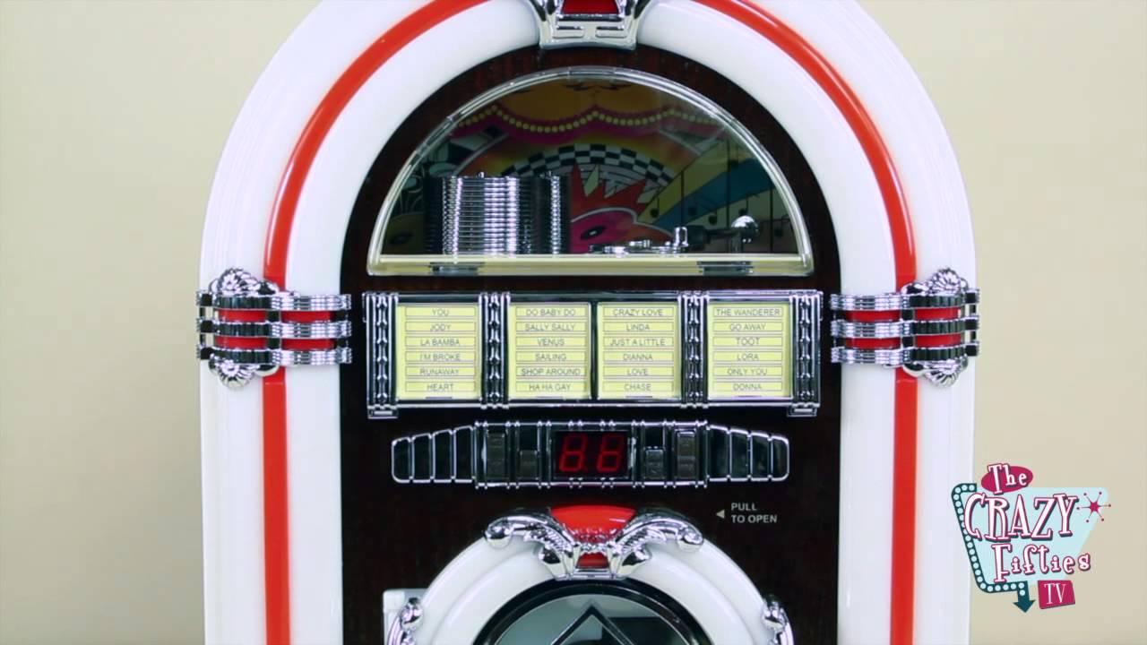 Mini Jukebox Radio cd mp3 English version
