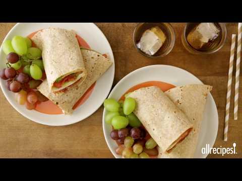 How to Make Hummus Proscuitto Wraps | Lunch Recipes | Allrecipes.com