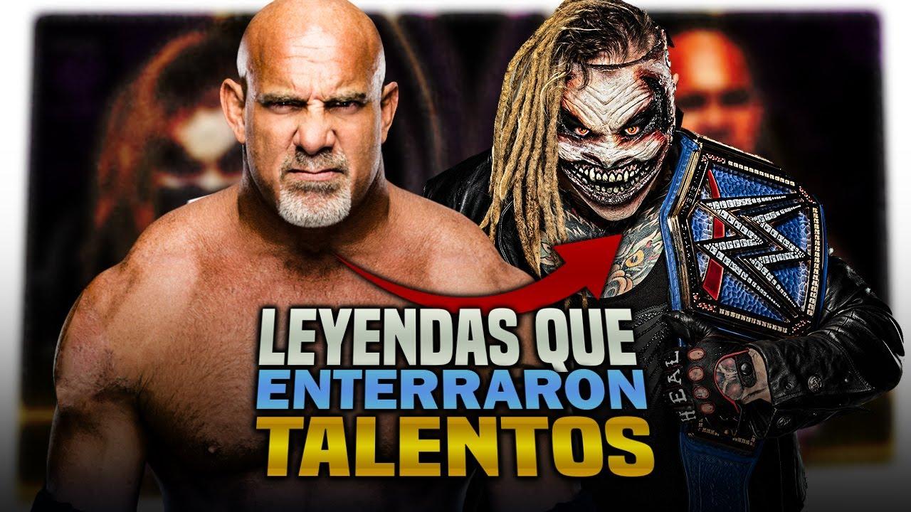 5 Leyendas que REGRESARON para ENTERRAR TALENTOS   Queremos WWE