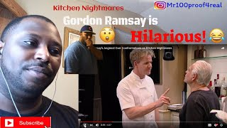 Gordon Ramsay's most angriest moments Reaction!