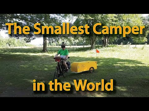 Bériault Bicycle Touring Camper for Highway Travel