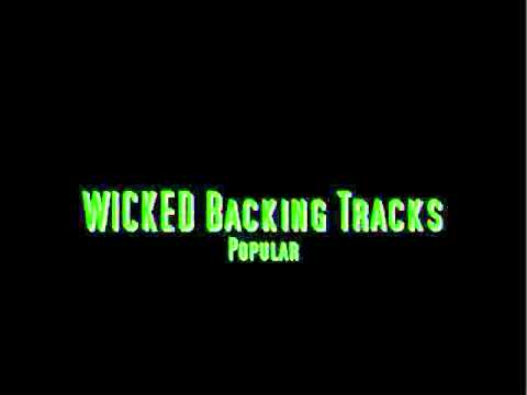 WICKED The Musical Backing Tracks Popular