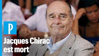 A los 86 años, murió el expresidente francés Jacques Chirac