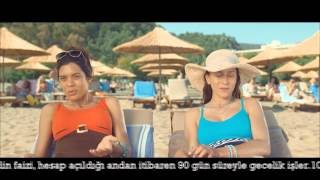 ING Bank   Turuncu Hesap Plaj Reklamı