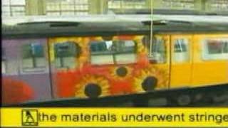 Yellow Pages Tube Train