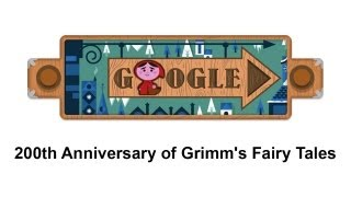 Grimm's Fairy Tales - Brothers Grimm (Google Doodle) [HD + Sound]