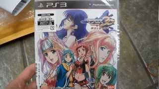 Unboxing Macross 30 Sony Playstation PS3 Bandai Namco Big West The Voice that Connects the Galaxy