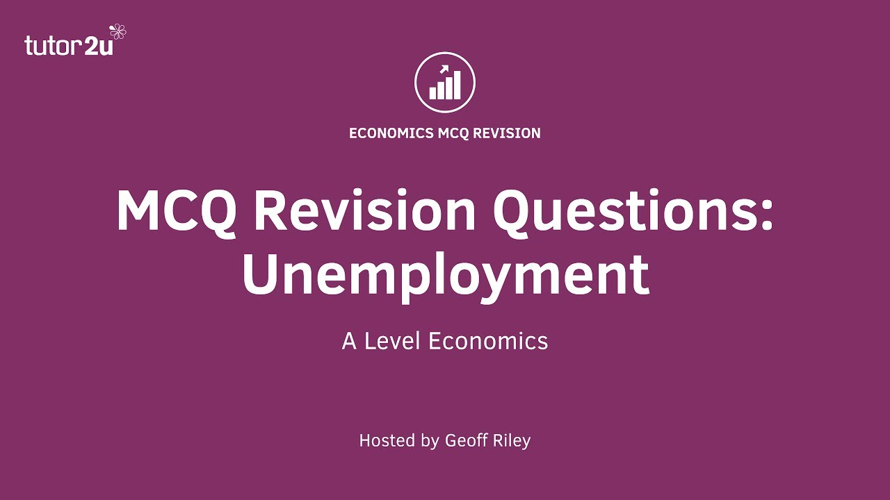 economics revision questions In each of the short revision videos below geoff poses an a level economics  exam-style, exam-standard mcq pause the video to work out.