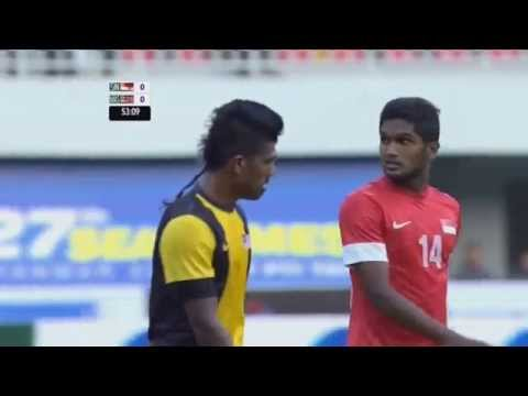 27th SEA Games (Football): Singapore vs Malaysia
